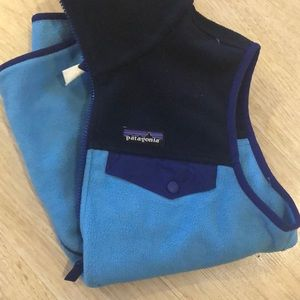 Patagonia Jackets & Coats - Patagonia Synchilla Blue Vest
